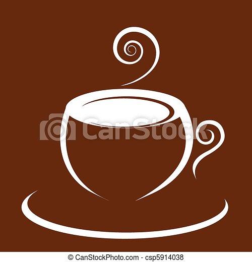 Hot coffee - csp5914038