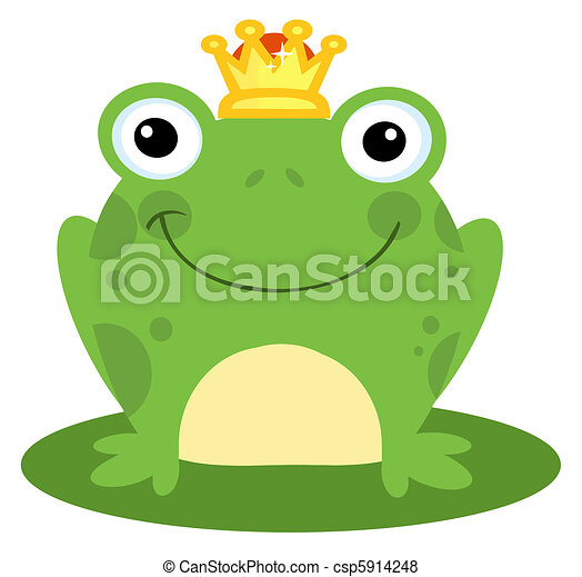 Happy Frog Prince - csp5914248