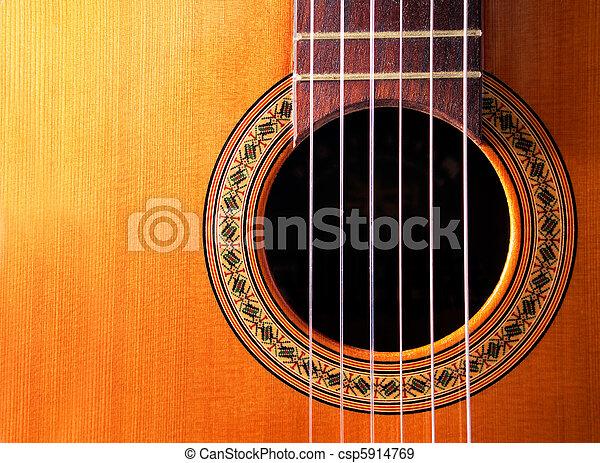 spanish guitar - csp5914769