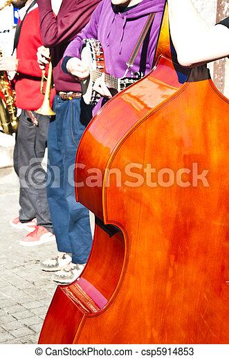 Street Musicians - csp5914853