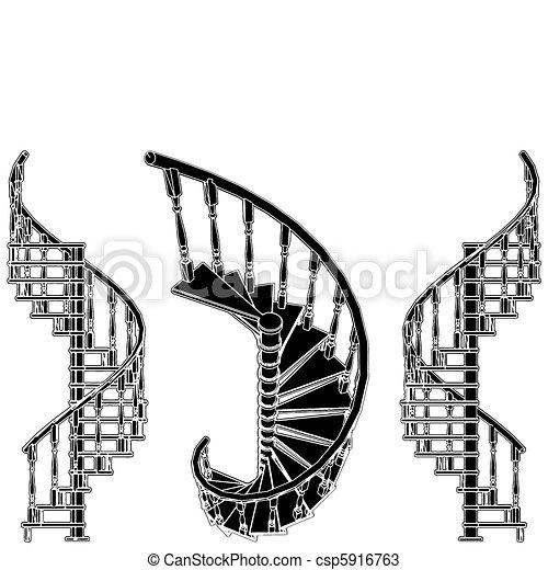 Spiral Staircase - csp5916763