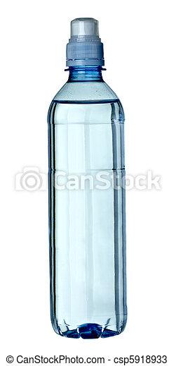 empty used trash bottle ecology environment - csp5918933
