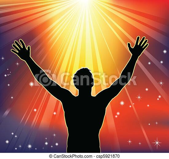 Spiritual joy - csp5921870