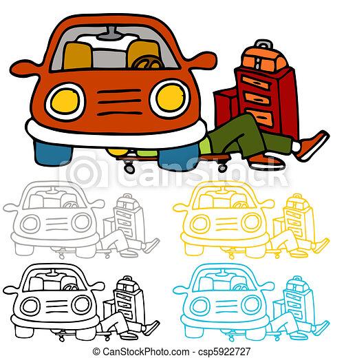 Car Repair and Maintenance - csp5922727