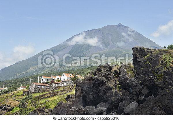 Pico volcano, Azores - csp5925016