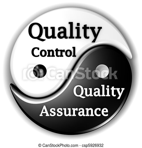 Quality assurance and Quality Control, like Ying and Yang, are inseparables - csp5926932