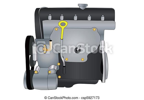 engine - csp5927173