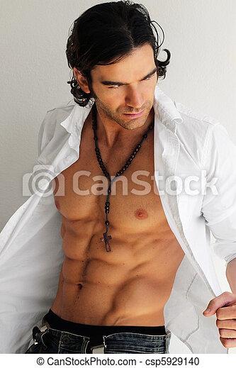 Sexy man - csp5929140