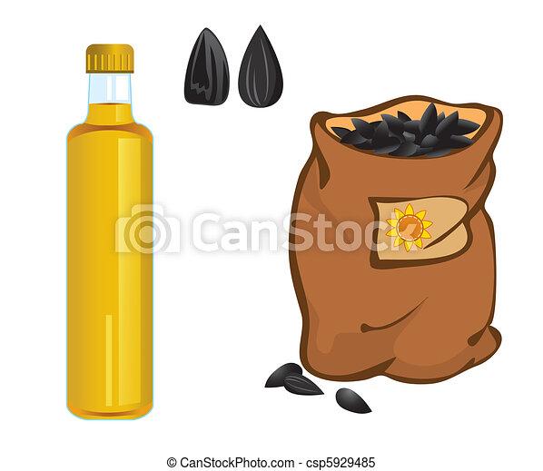 sunflower oil - csp5929485