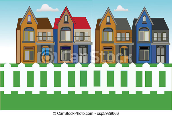house urban city - csp5929866
