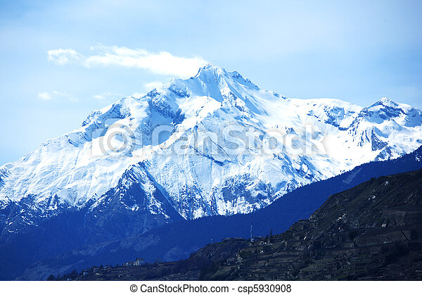 Mountains, topp - csp5930908