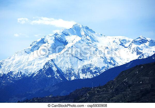 montagne, cima - csp5930908