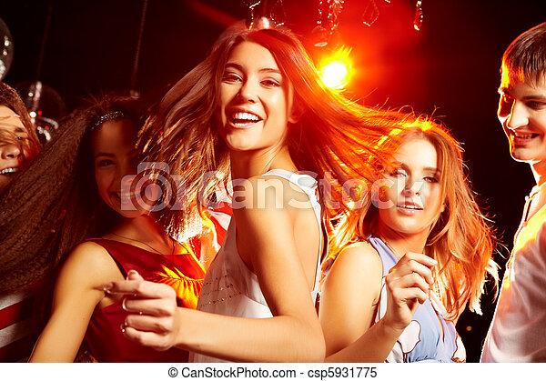 Energetic teenager - csp5931775