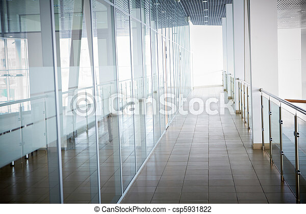 intérieur, bâtiment, bureau - csp5931822