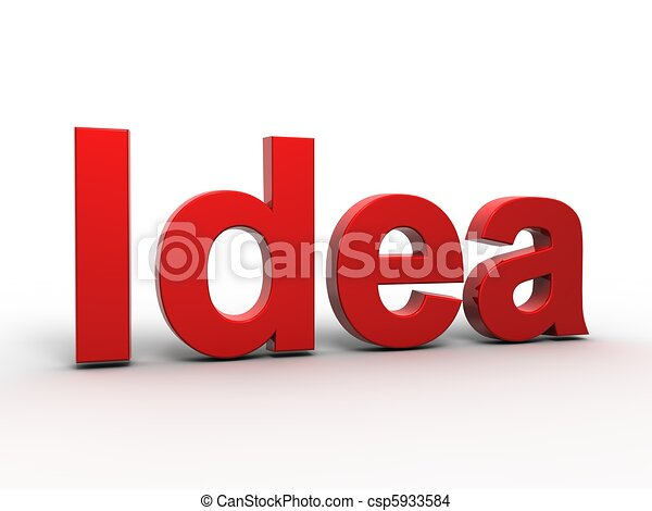 Idea Concept  - csp5933584