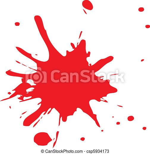 Clip Art Blood Splatter Clipart splatter clip art and stock illustrations 50815 eps paint clipartby kentoh6736 red of blood or ink