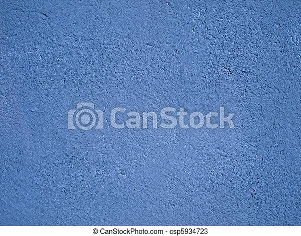 azul, parede, cimento - csp5934723