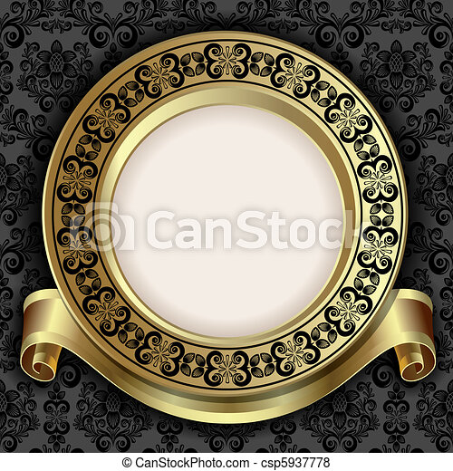 Retro frame - csp5937778