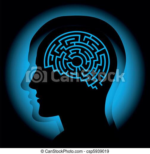 Brain maze - csp5939019