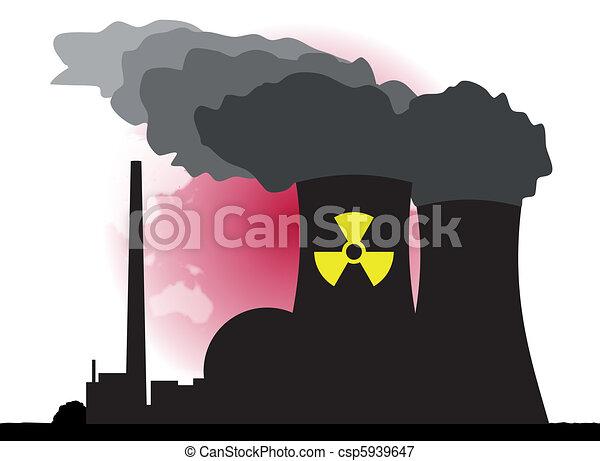 Nuclear Power - csp5939647