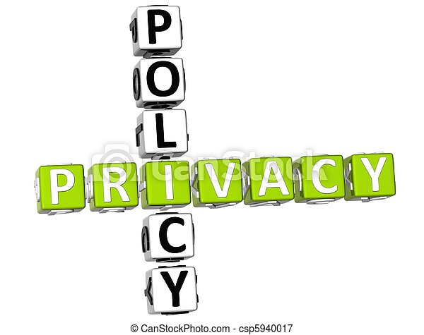 Privacy Policy Crossword - csp5940017