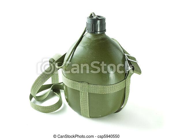 military canteen - csp5940550