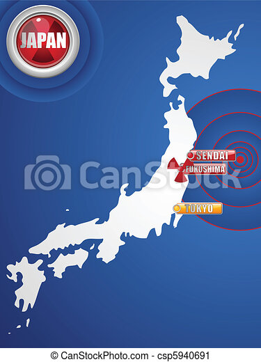 Japan Earthquake and Tsunami Disaster 2011 - csp5940691
