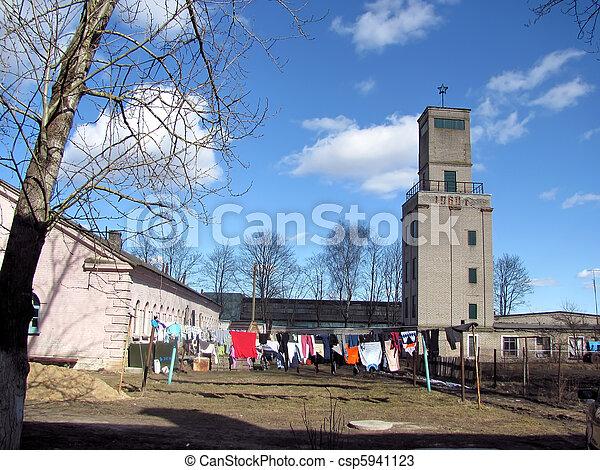 Building of Communism - csp5941123
