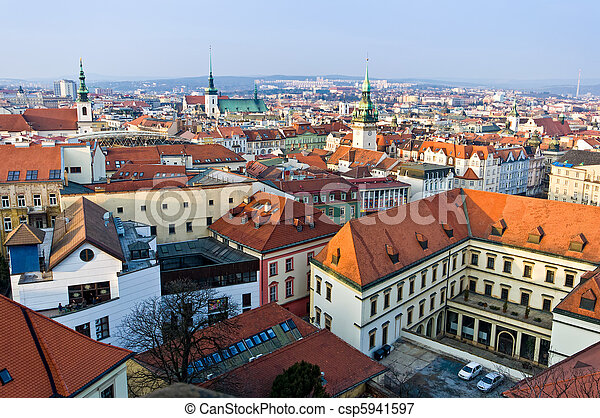 Brno historic center - csp5941597