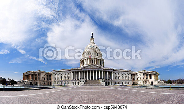 US Capitol - Government building - csp5943074