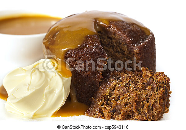 Sticky Date Pudding - csp5943116