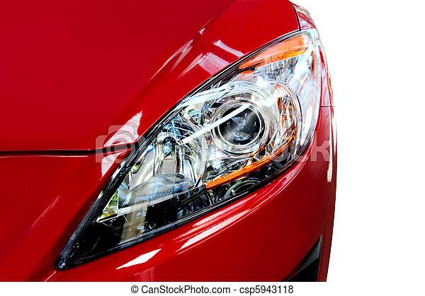 Red Car Detail - csp5943118