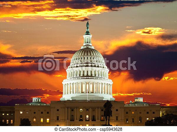 United States Capitol Building  - csp5943628