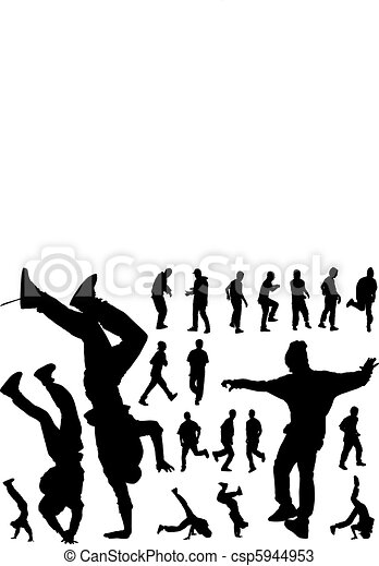 Urban dancers - csp5944953