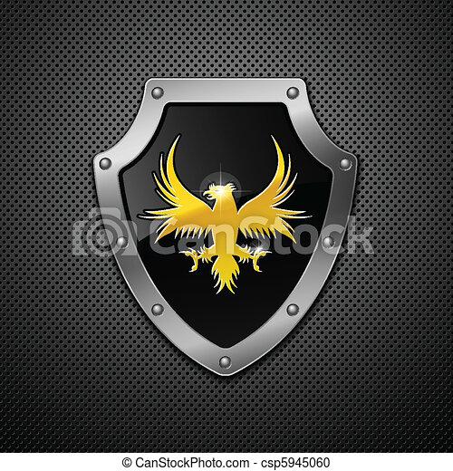 Shield. Vector.  - csp5945060