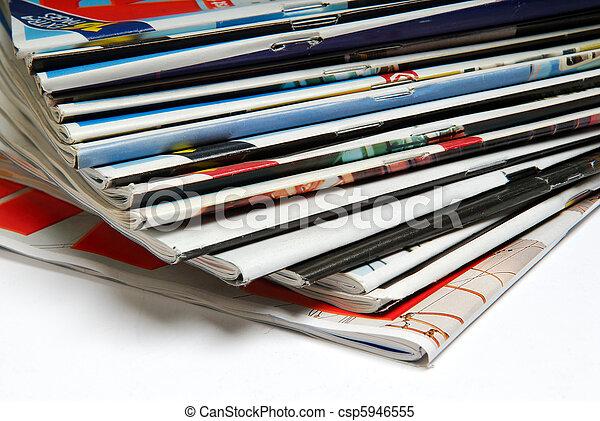 Magazines. - csp5946555