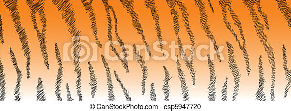 Tiger Fur - csp5947720