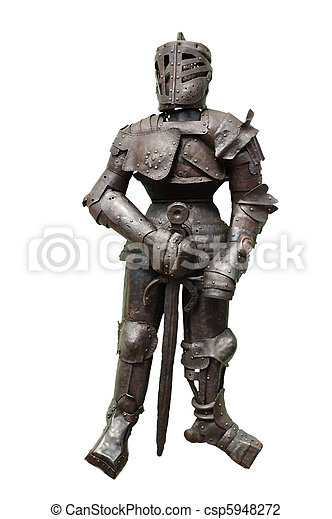 Knightly armour - csp5948272