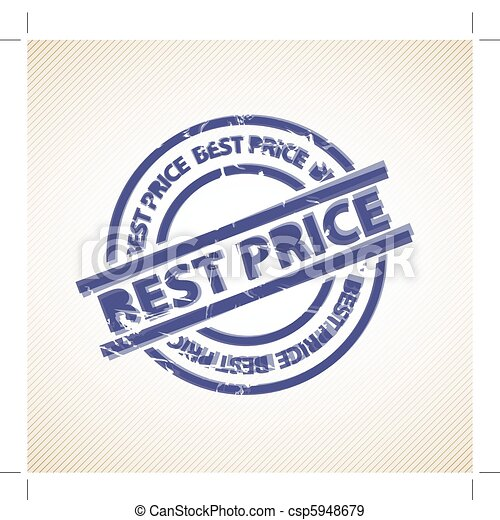 Stamp for best price - csp5948679