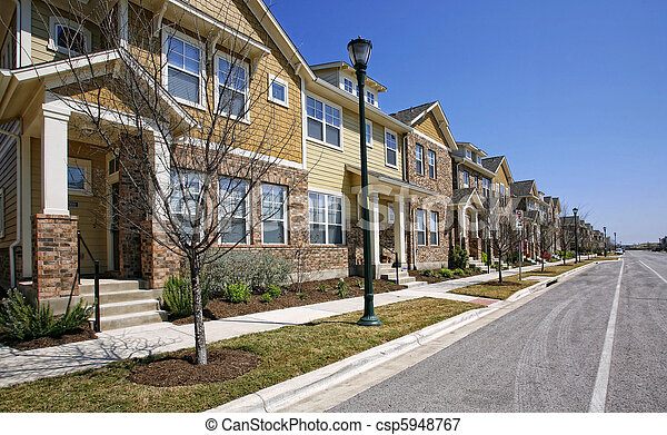 Residential street  - csp5948767