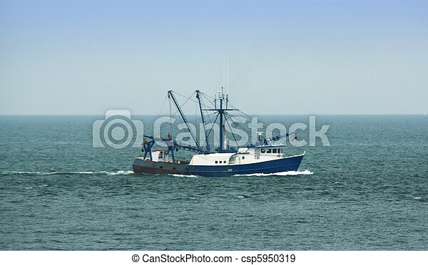 Commercial Fishing Boat - csp5950319
