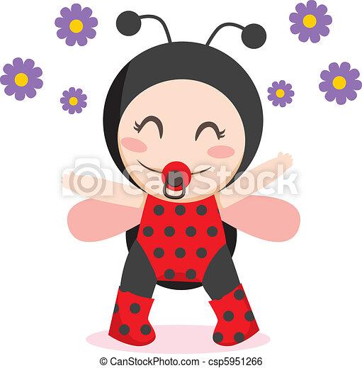 Baby Ladybug - csp5951266