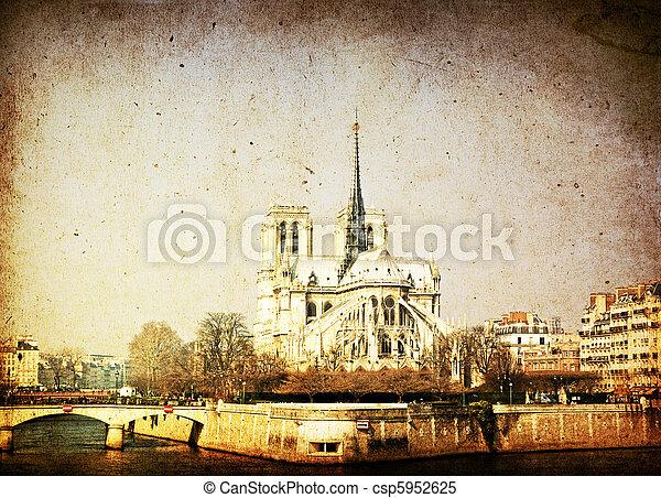 antique church - csp5952625