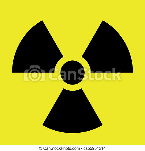 Radiation Sign - csp5954214