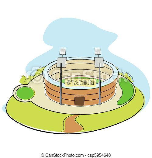 Sport Stadium - csp5954648