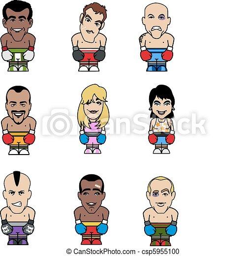 Boxer puppets - csp5955100