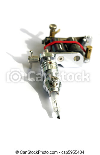 tattoo machine - csp5955404
