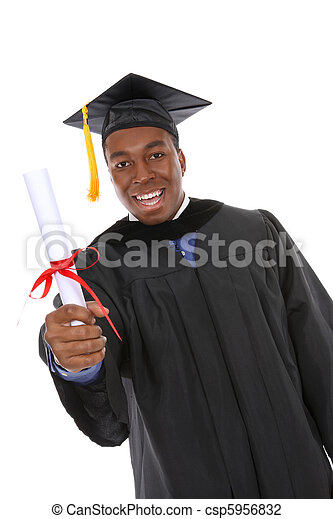 Handsome Graduation Man - csp5956832