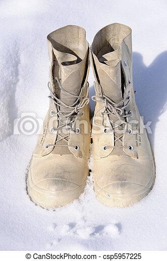 Arctic Winter Survival Boots - csp5957225