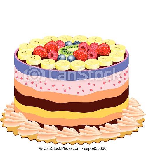 Delicious Cake Animation